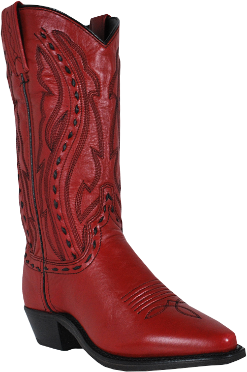 Abilene 9002 Red Western Boot-0