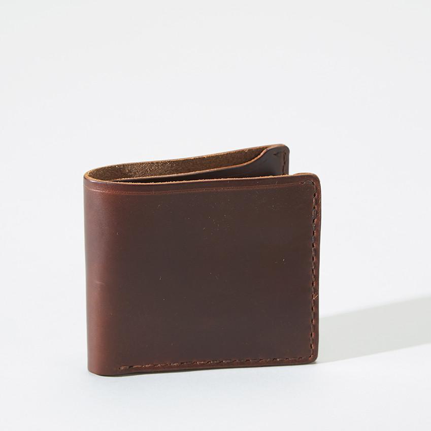 CX44 Card/Coin Horsehide Wallet-0