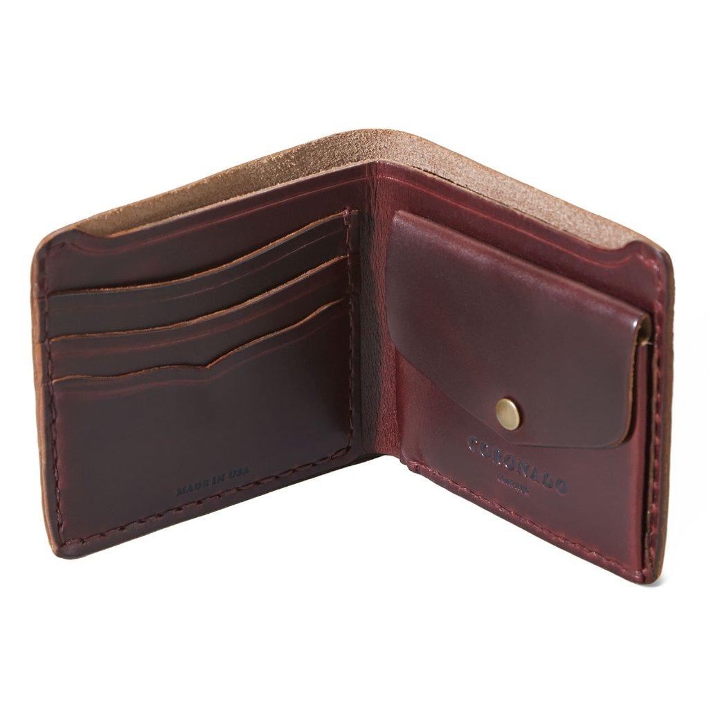 CX44 Card/Coin Horsehide Wallet-5054