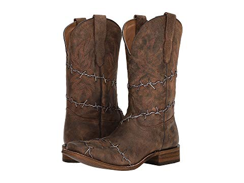 A3532 Barbed Wire Boots-0