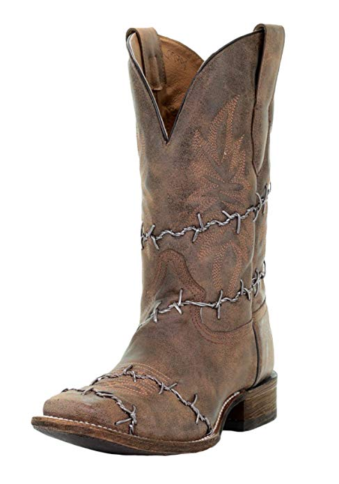 A3532 Barbed Wire Boots-6128