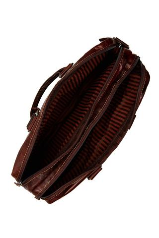 7317 Large Double Gusset Top Zip Briefcase-6643