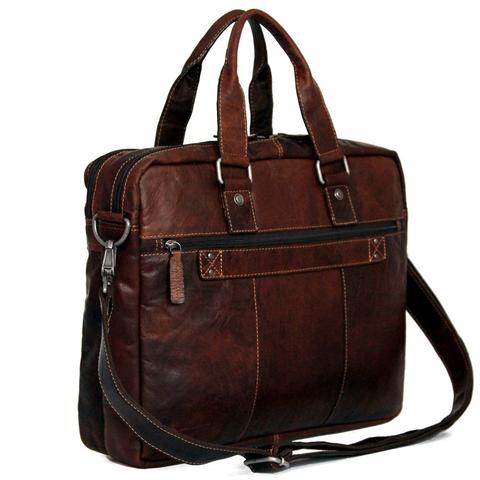 7317 Large Double Gusset Top Zip Briefcase-6648
