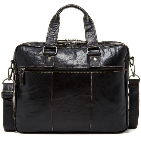 7317 Large Double Gusset Top Zip Briefcase-6646