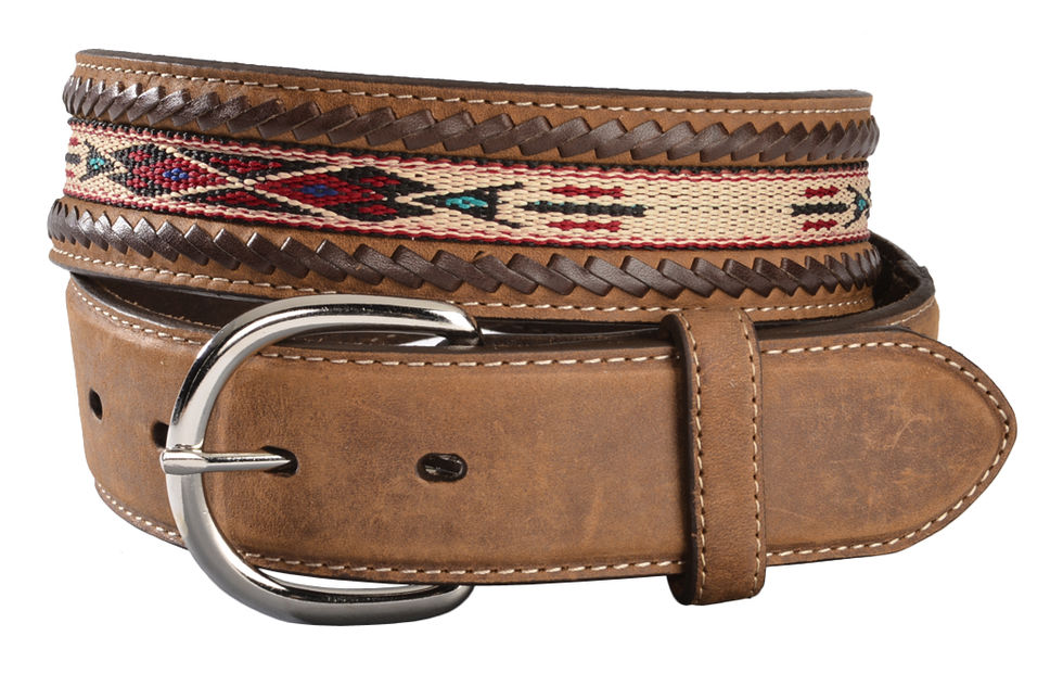 5A109 Lace Edge Horsehair Belt-0