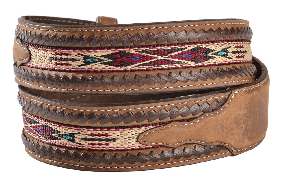 5A109 Lace Edge Horsehair Belt-7924