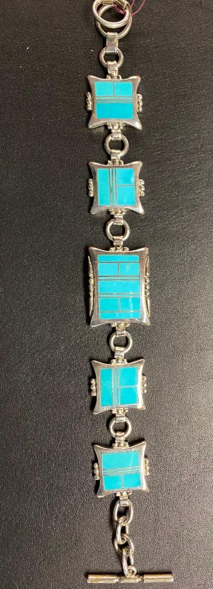 Envoy BR340 AZ Blue Bracelet-0