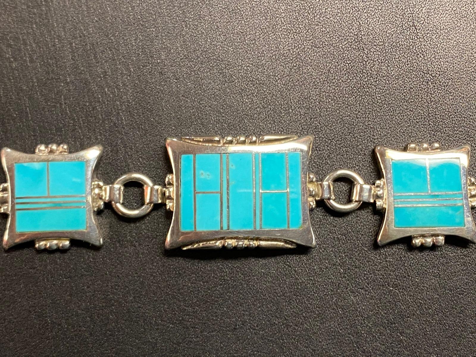 Envoy BR340 AZ Blue Bracelet-8613