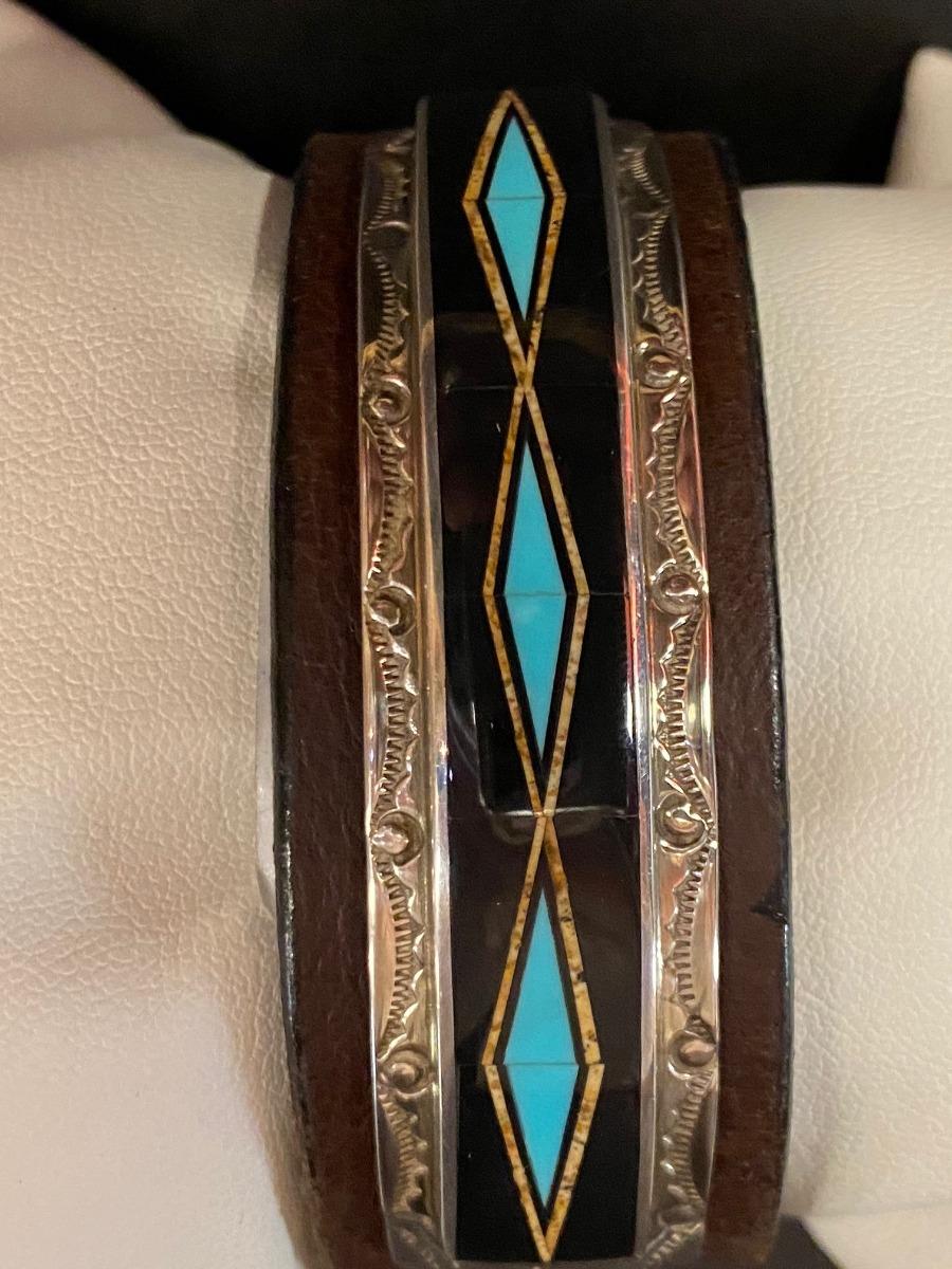 Envoy 373-5 Leather Bracelet-8617