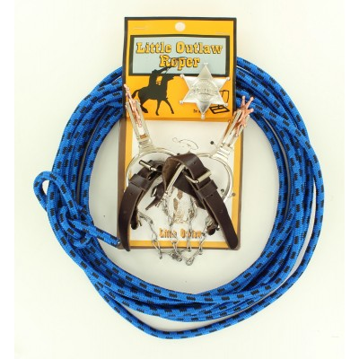 50108 Kid's Rope/Spur/Badge Set-0