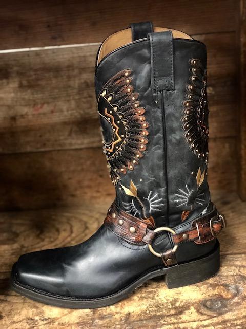 A3614 Black Eagle Boots-8704